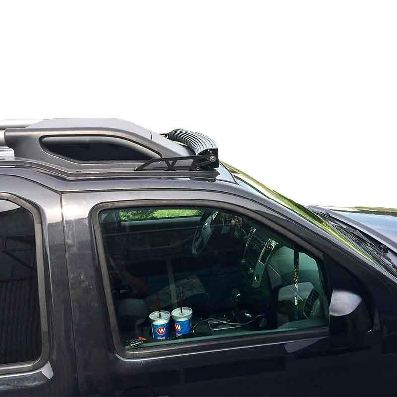 Xterra led light bar roof mount for 42 inch curved 05 15 nissan view the full image view the full image aloadofball Images